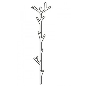 Branch Hanger klädhängare svart, Maze