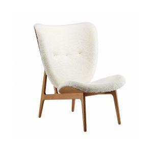 Elephant Chair fårskinn vit / ek Norr11
