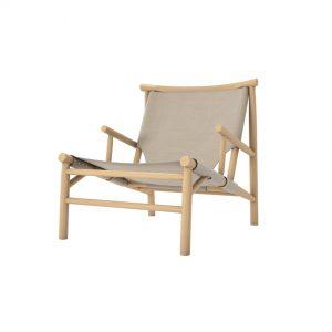 Lounge stol Samurai Chair – Canvas, Norr11