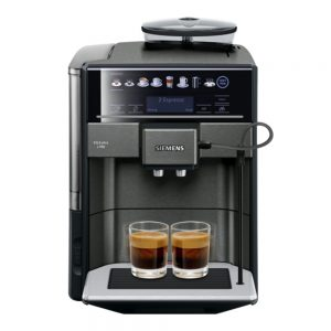 Siemens – Helautomatisk espresso/kaffemaskin EQ6 PLUS S700 Dark Inox