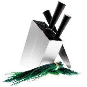 Eva Solo – Knivblock lutande Aluminum
