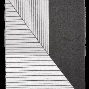 Plastmatta Stripe 150×210 cm