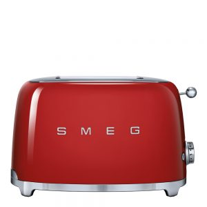 50's Style Brödrost 2 skivor Röd