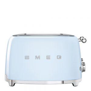 50's Style Brödrost kvadrat 4 skivor Blå