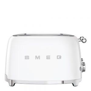 Smeg – 50's Style Brödrost kvadrat 4 skivor Vit