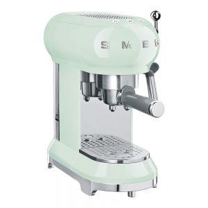Smeg – 50's style Espressomaskin Grön