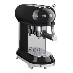 Smeg – 50's Style Espressomaskin Svart