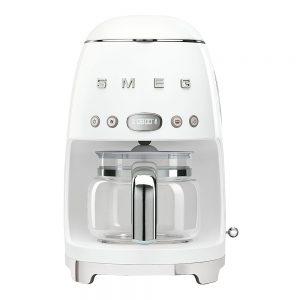 50's Style Kaffebryggare Vit