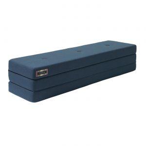 Dagbädd KK 3 fold 180 cm Mörkblå/ svart, KlipKlap