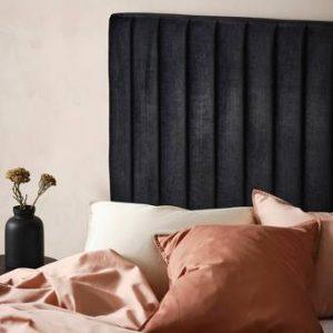 DERBY sänggavel 120 cm Svart