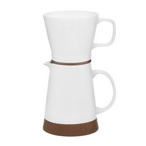 Maku Duo Keramik kaffekanna och filter set