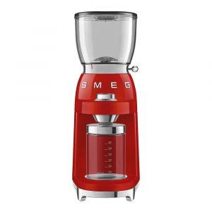 Smeg – 50's Style Kaffekvarn Röd