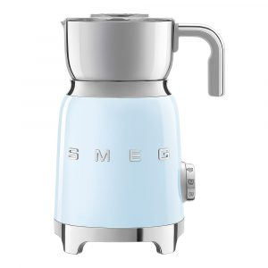 Smeg – 50's Style Mjölkskummare Blå