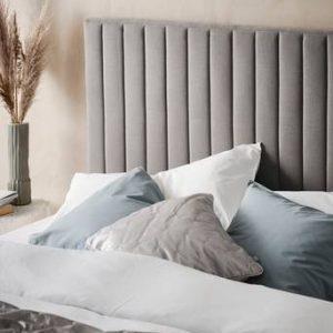 DERBY sänggavel 160 cm Cementgrå