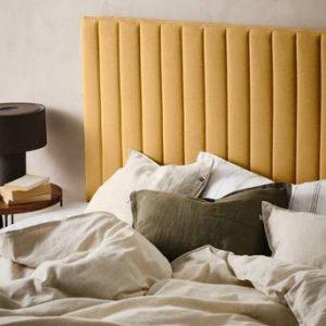 DERBY sänggavel 180 cm Currygul