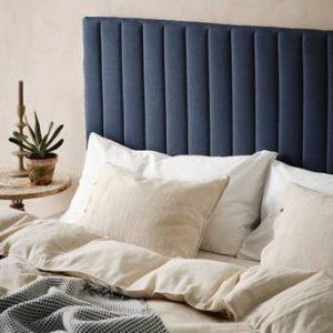 DERBY sänggavel 180 cm Gråblå