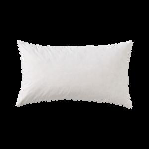 Innerkudde med fjäderfyllning 50×90 cm