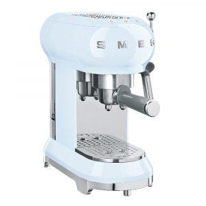 Smeg – 50's Style Espressomaskin Pastellblå