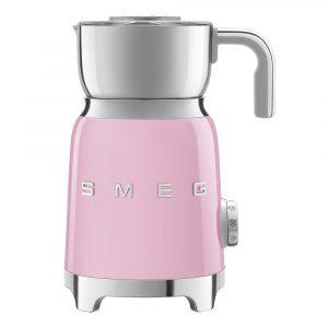 Smeg – 50's Style Mjölkskummare Rosa