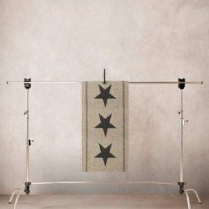 THREE STARS INNE/UTE bouclématta 60×110 cm