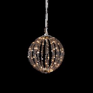 BREEZE hängande dekoration LED ø 30 cm Svart