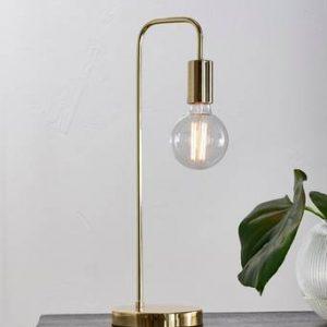 ENGLAND bordslampa Guld