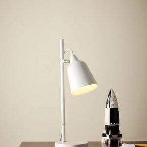 ERWIN bordslampa Vit