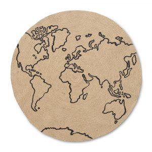 Jute Carpet Large World Ferm Living