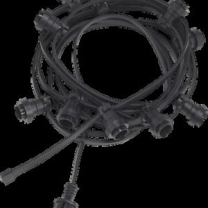 Ljusslinga svart 7,2 m Svart