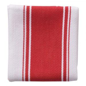 Dexam – Love Colour Handduk 45×70 cm Röd/Vit