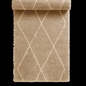 NANCY luggmatta 80×150 cm Beige/naturvit