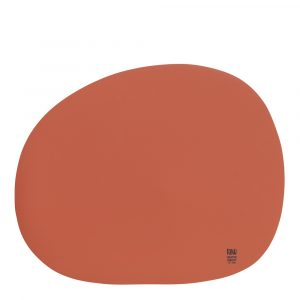 Aida – Raw Bordstablett 41×33,5 cm Terracotta