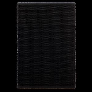 SIENA slätvävd dörrmatta 60×90 cm Svart