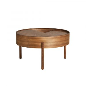 Arc Coffee table valnöt Woud