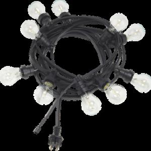 Ljusslinga BRIGHT Utomhus 7,2m Svart