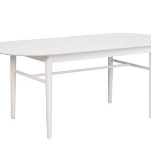 Akita Matbord Ovalt Vitt 190 cm