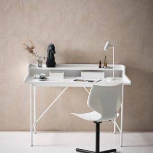 FRIDHEM skrivbord 60×120 cm Matt vit