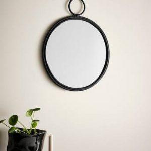 BAM spegel Svart