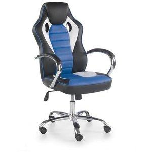 Begum skrivbordsstol – Vit/svart/blå