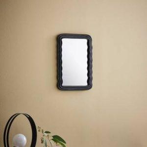 FORTUNE spegel – liten Svart