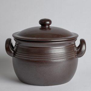 Höganäs Keramik – SÅLD Gryta med Lock Höganäs