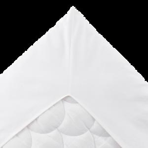 KERSTIN dra-på-lakan 140×200 cm Vit