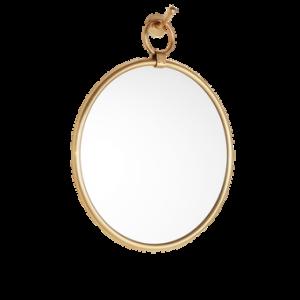TALLULAH spegel – ø 45,5 cm Antikguld