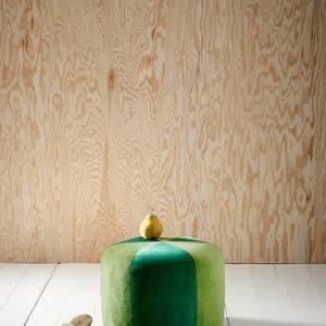 BARCELONA barnpuff Grön/grön
