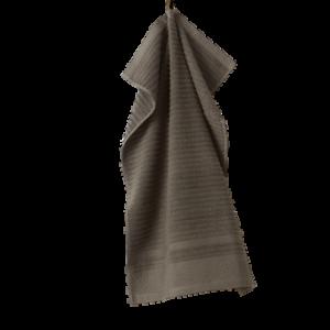 BETTIE handduk – ekologisk Beigegrön