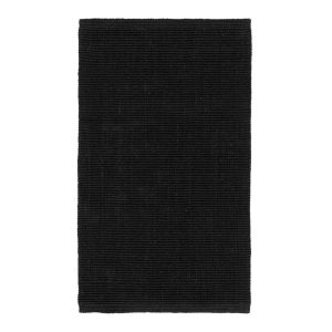 Fiona dörrmatta svart 70×120 cm