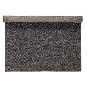 Flock ullmatta mörkgrå 170×240 cm