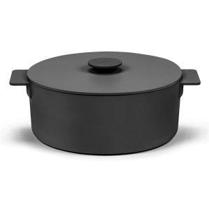 Surface gjutjärnsgryta svart 5,5 L