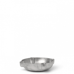 Bowl Ljusstake Medium Aluminium