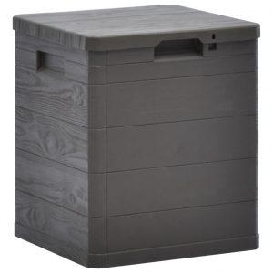 vidaXL Dynbox 90 L brun
